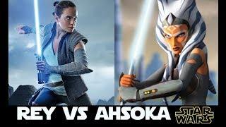 Rey Vs Ahsoka: A Character Cross-examination Battle