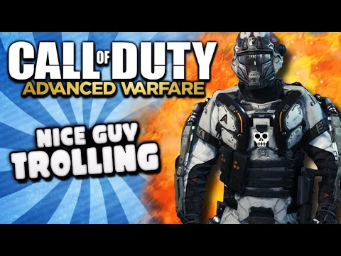 COD Advanced Warfare Nice Guy Trolling - Rude Girls, Bad Insults, Weird Fetish, Funny Moments!
