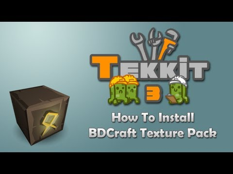 How to Install BDCraft HD Texture Pack for Minecraft Tutorial