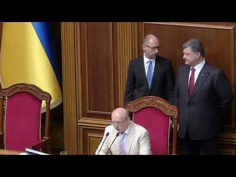 Ukraine: Poroshenko backs Yatsenyuk for new term as PM