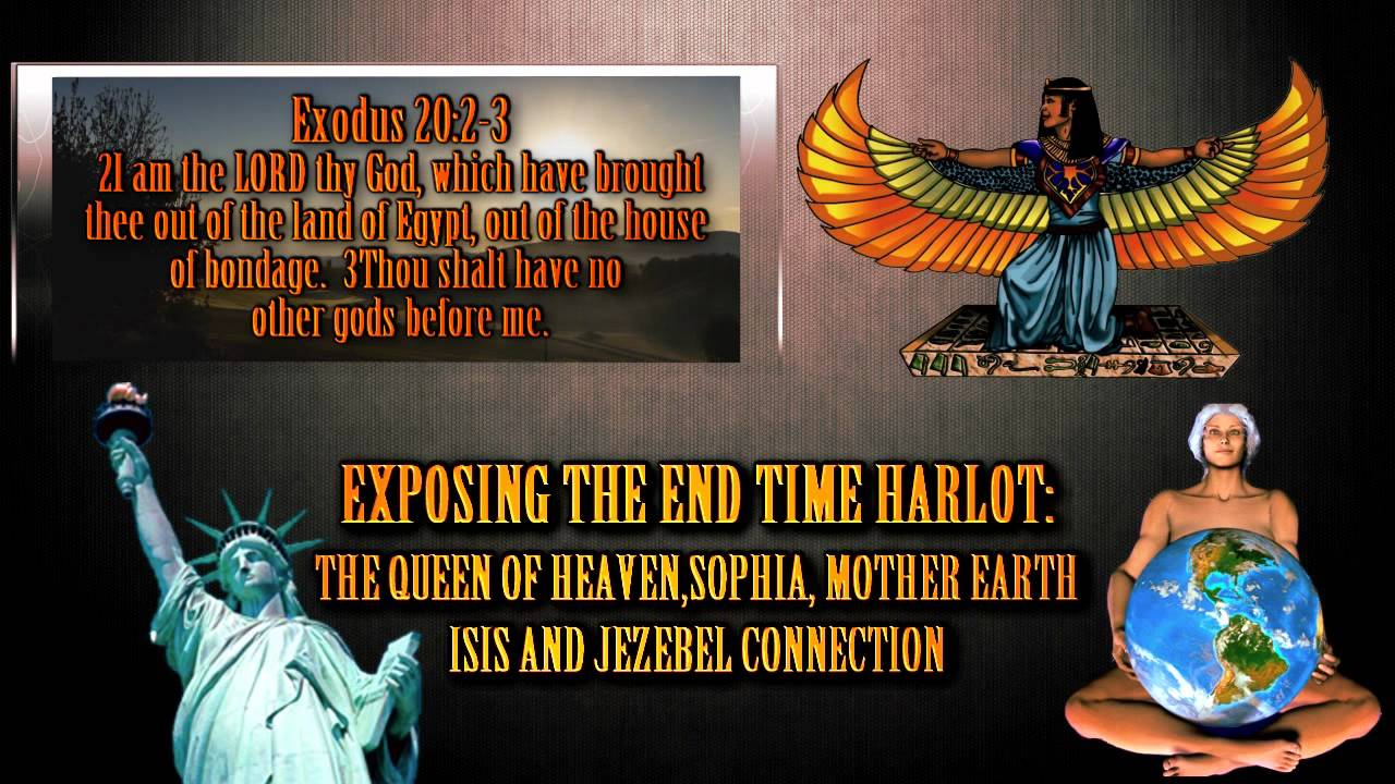 Pt1 JezebelHarlot Revealed Isis Queen Of Heaven
