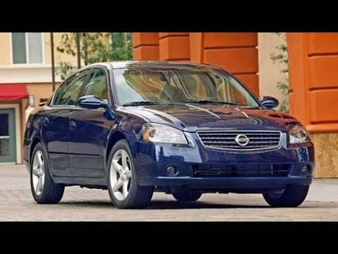 2006 Nissan Altima Start Up and Review 2.5 L 4-Cylinder