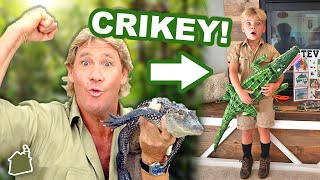 MINI CROCODILE HUNTER!