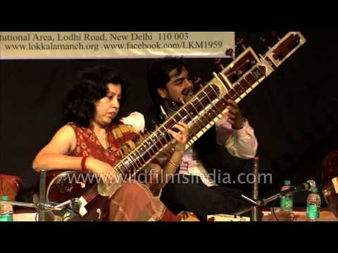 Rabindra sangeet through the strings of sitar