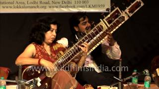 Rabindra sangeet from the strings of a Sitar