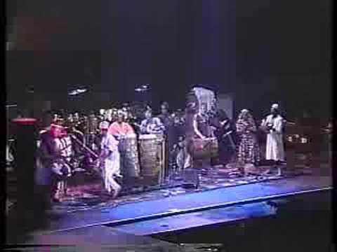 Baba Olatunji & his Drums of Passion- Akiwowo
