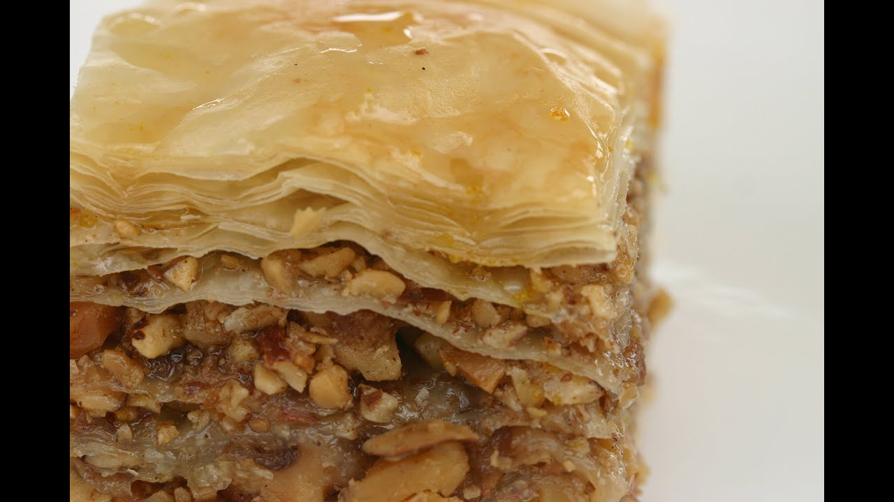 How To Make Baklava - It's Easy To Make This Delicious ...