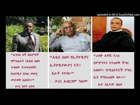 Panel Discussion With Dr Beyan Asoba, Dr Abreham Alemu, And Geletaw Zeleke – Pt 1 - SBS Amharic