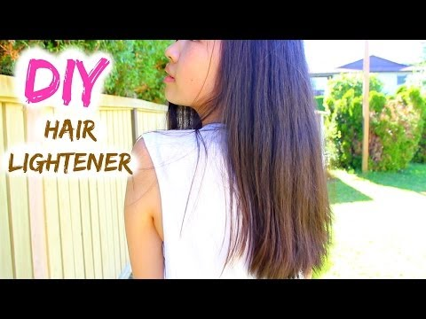 DIY: Natural Hair Lightener