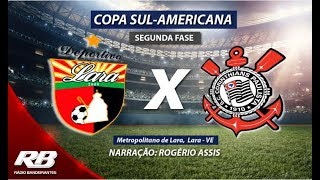 Copa Sul-Americana - Deportivo Lara X Corinthians - AO VIVO