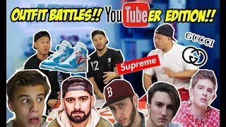 RATING OTHER YOUTUBERS OUTFITS!!