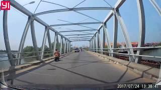 Keliling Kota LHOKSEUMAWE Rute Bebas, Dashcam (NORTH ACEH, INDONESIA)