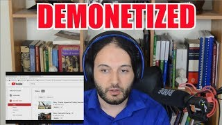 16 Of My Videos Demonetized In One Day - Ouch!