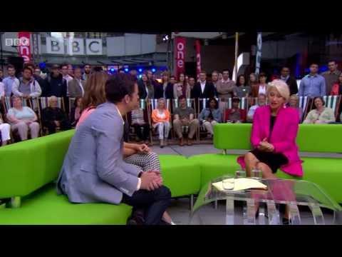 Helen Mirren on The One Show  - 02/09/2014