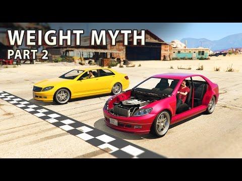 GTA V - Car weight Myth [Part 2]