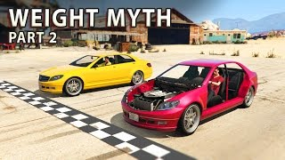 GTA V - Car weight Myth [Part 2]