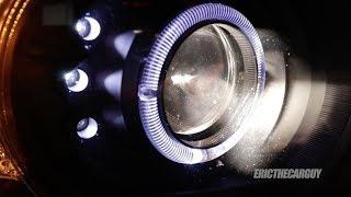 HID vs LED vs Halogen Headlights in Projector Housings