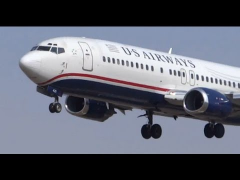 Planespotting Compilation #21: US Airways, Delta, American Airlines O'Hare International Airport ORD