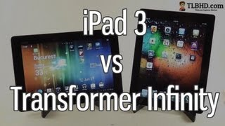 Asus Transformer Infinity TF700 vs Apple iPad 3