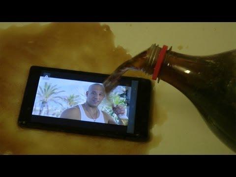 Sony Xperia Z + Coca-Cola = Awesomeness!