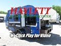 HaylettRV - 2018 Winnebago 170K Minnie Drop Outside Kitchen Double Bunk Tear Drop Travel Trailer