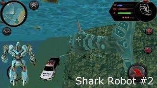 ► Robot Shark (Naxeex Corp) #2 New City Shark Robo Transform Android Gameplay