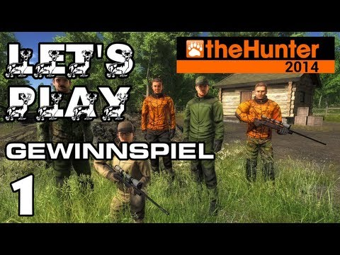 Let's Play the Hunter 2014 German Part 1 Gewinne das Spiel für PC [Deutsch][Full-HD]