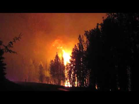 Funny River Fire May 21, 2014 1:24AM