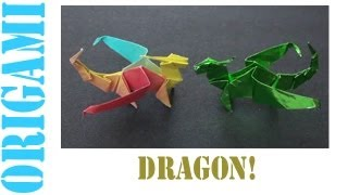 Origami Daily - 425: Robert Neale's Dragon - Tcgames [hd]