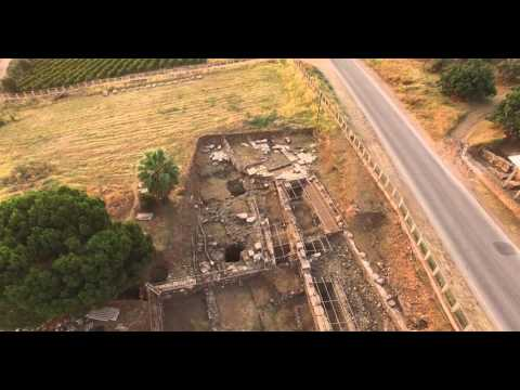 Drone Flight over Sardis: The Roman Arch, Lydian Gate, Bath-Gymnasium Complex, and Synagogue