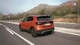 Volkswagen T-Cross - first drive by SAT TV Show