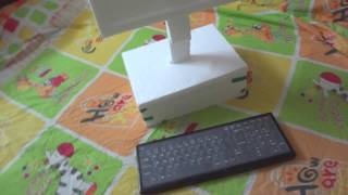 Model Thermocol computer - Kindergarden project