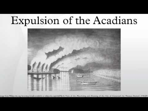 a brief history of the acadians and their great deportation A brief history of newfoundland  initially this didn't bother the english and the acadians felt their neutrality  governor cornwallis threatened deportation.