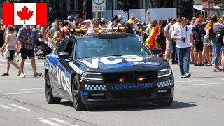 Montréal | VCS Investigation Private Security's NEW Dodge Charger Patrolling Montréal Pride Parade