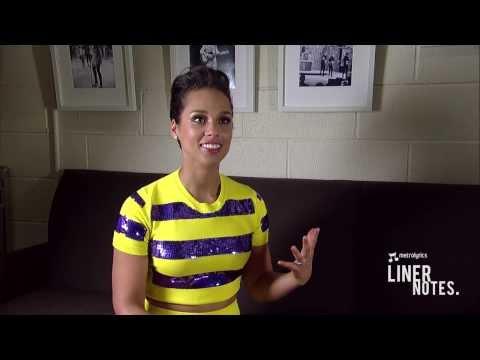 Alicia Keys Tells Us The Secret To Writing Great Lyrics - LINER NOTES