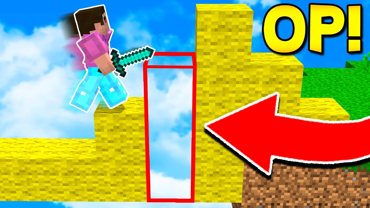 THIS INVISIBLE MINECRAFT TROLL ACTUALLY WORKS! (Minecraft BED WARS)