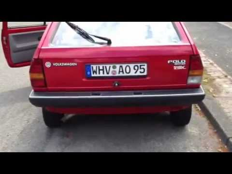 Revving old VW Polo Fox Coupe