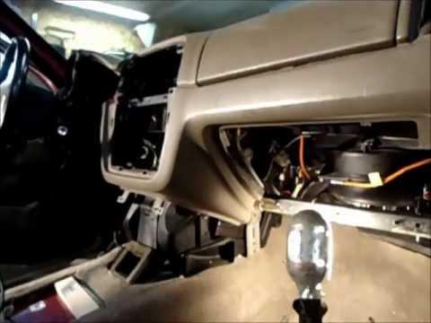 2003 Mercury Mountaineer Heater Door Motor Part 1 Youtube
