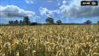 Landwirtschafts-Simulator-2011, LS11, Düngen, Dreschen, Oderbruch