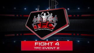 Fight 4 of the TFC Event 2 DH (Minsk, Belarus) vs GPG (NYC, USA)