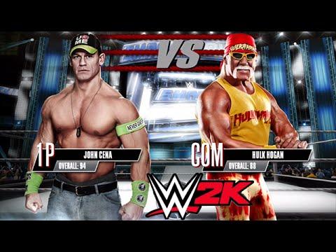 WWE 2K - Smack Down Hulk Hogan Vs John Cena - iOS / Android