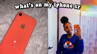 What's on my iPhone XR !!