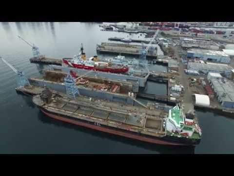 Harbor Island Ships, Seattle