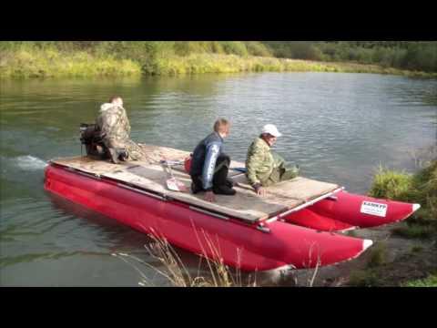 камкур лодка катамаран