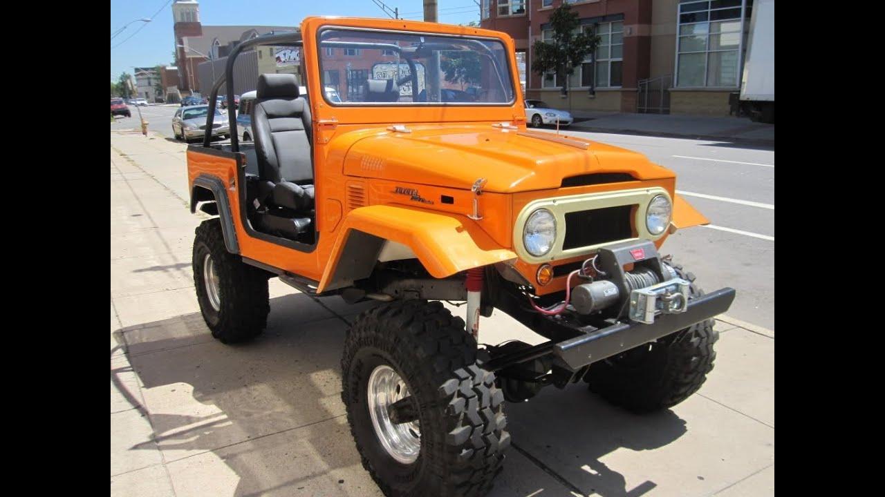 1969 Toyota Land Cruiser Fj40 For Sale Restored Youtube