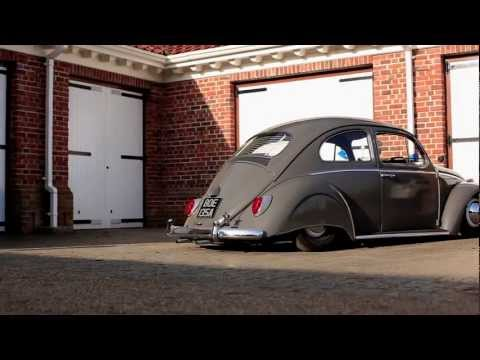 Niall's Slammed Skirted 63 VW Beetle The Video Volks