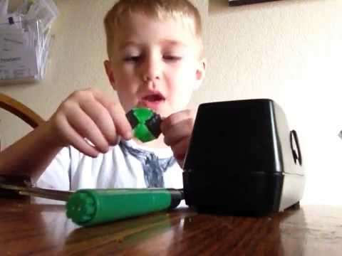 How to make a paper omnitrix.