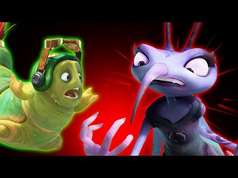 Insectibles | Episode #2 SIZE MATTERS | 3D Cartoons For Kids | Oddbods & Friends