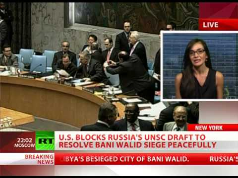 US blocks Russian proposal to UN on peaceful Bani Walid solution