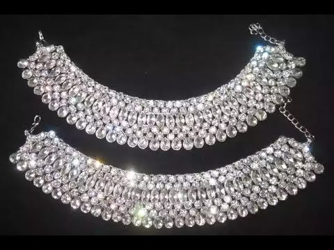 पायल डिजाइन |Latest Silver Anklet Designs/Bride Payal Designs